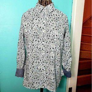 Tommy Hilfiger Floral button down shirt women med